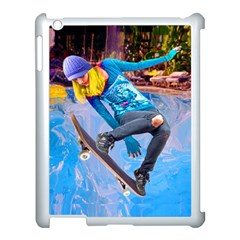 Skateboarding On Water Apple Ipad 3/4 Case (white) by icarusismartdesigns