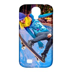 Skateboarding On Water Samsung Galaxy S4 Classic Hardshell Case (pc+silicone) by icarusismartdesigns