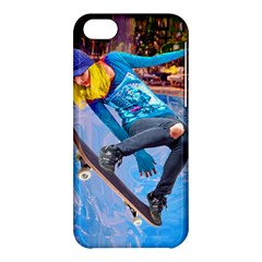 Skateboarding On Water Apple Iphone 5c Hardshell Case by icarusismartdesigns