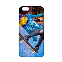 Skateboarding On Water Apple Iphone 6 Hardshell Case by icarusismartdesigns