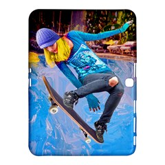 Skateboarding On Water Samsung Galaxy Tab 4 (10 1 ) Hardshell Case  by icarusismartdesigns