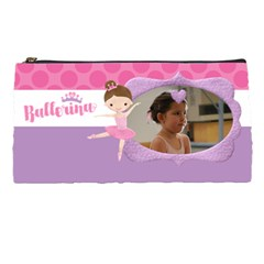 Ballerina   Dancer Pencil Pouch By Mikki   Pencil Case   Alyis5l70aln   Www Artscow Com Front
