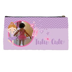 Ballerina   Dancer Pencil Pouch By Mikki   Pencil Case   Alyis5l70aln   Www Artscow Com Back