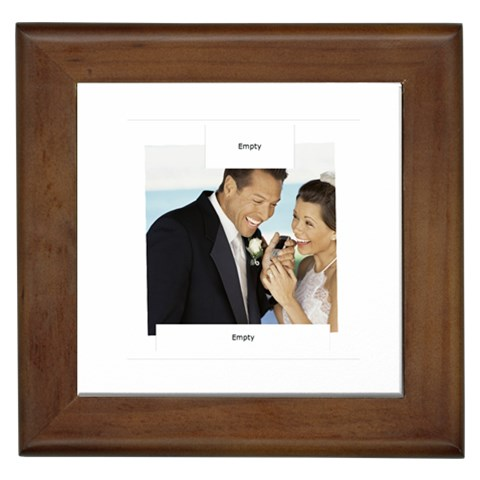 Wedding By Wedding   Framed Tile   Qp6cqgt6wi7g   Www Artscow Com Front