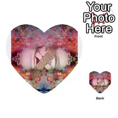 Nature And Human Forces Cowcow Multi Purpose Cards (heart)