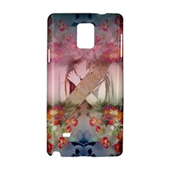 Nature And Human Forces Cowcow Samsung Galaxy Note 4 Hardshell Case by infloence