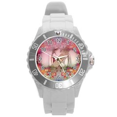 Watch Round Plastic Sport Watch (l) by infloence