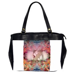 Nature And Human Forces Office Handbags (2 Sides)  by infloence