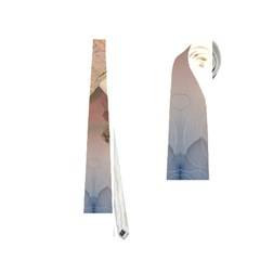 Nature And Human Force Neckties (two Side)