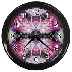 Natureforces Abstract Wall Clocks (black) by infloence