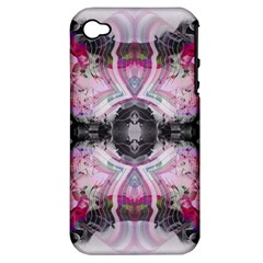 Natureforces Abstract Apple Iphone 4/4s Hardshell Case (pc+silicone) by infloence