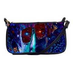 Voyage Of Discovery Shoulder Clutch Bags by icarusismartdesigns