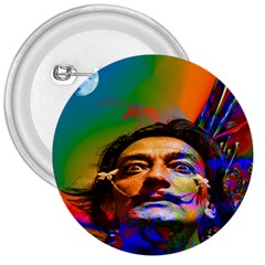 Dream Of Salvador Dali 3  Buttons by icarusismartdesigns
