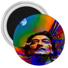 Dream Of Salvador Dali 3  Magnets by icarusismartdesigns