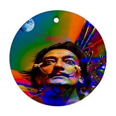Dream Of Salvador Dali Ornament (round)  by icarusismartdesigns