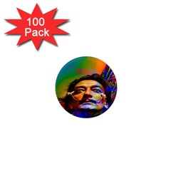 Dream Of Salvador Dali 1  Mini Magnets (100 Pack)  by icarusismartdesigns