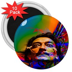 Dream Of Salvador Dali 3  Magnets (10 Pack)  by icarusismartdesigns