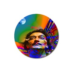 Dream Of Salvador Dali Magnet 3  (round) by icarusismartdesigns