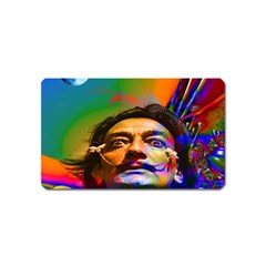 Dream Of Salvador Dali Magnet (name Card) by icarusismartdesigns