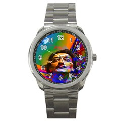 Dream Of Salvador Dali Sport Metal Watches by icarusismartdesigns