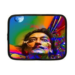 Dream Of Salvador Dali Netbook Case (small)  by icarusismartdesigns