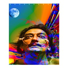 Dream Of Salvador Dali Shower Curtain 60  X 72  (medium)  by icarusismartdesigns