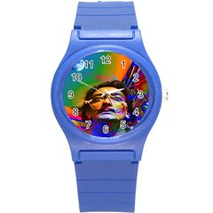 Dream Of Salvador Dali Round Plastic Sport Watch (s) by icarusismartdesigns