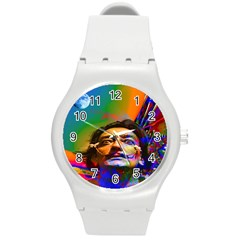 Dream Of Salvador Dali Round Plastic Sport Watch (m) by icarusismartdesigns