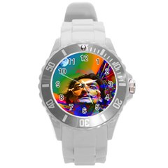 Dream Of Salvador Dali Round Plastic Sport Watch (l) by icarusismartdesigns