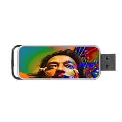 Dream Of Salvador Dali Portable Usb Flash (two Sides) by icarusismartdesigns