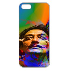 Dream Of Salvador Dali Apple Seamless Iphone 5 Case (clear) by icarusismartdesigns