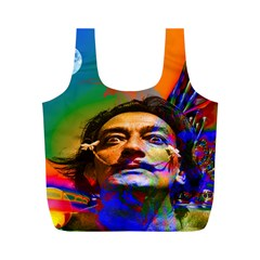 Dream Of Salvador Dali Full Print Recycle Bags (m)  by icarusismartdesigns