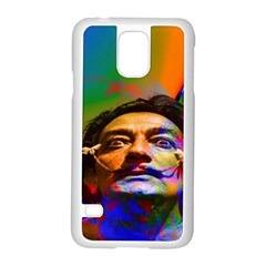 Dream Of Salvador Dali Samsung Galaxy S5 Case (white) by icarusismartdesigns