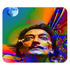 Dream Of Salvador Dali Double Sided Flano Blanket (small)  by icarusismartdesigns