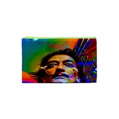 Dream Of Salvador Dali Cosmetic Bag (xs) by icarusismartdesigns