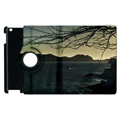 Landscape Aerial View Of Taganga In Colombia Apple Ipad 3/4 Flip 360 Case by dflcprints