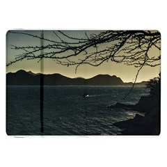 Landscape Aerial View Of Taganga In Colombia Samsung Galaxy Tab 8.9  P7300 Flip Case by dflcprints