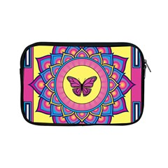 Butterfly Mandala Apple Ipad Mini Zipper Cases by GalacticMantra