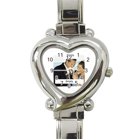 Wedding By Wedding   Heart Italian Charm Watch   Lbae5k8nixya   Www Artscow Com Front