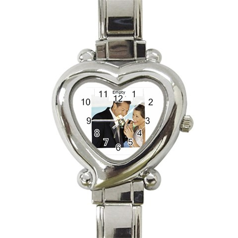 Wedding By Wedding   Heart Italian Charm Watch   3f36d1nrr0q6   Www Artscow Com Front