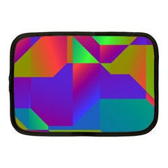 Colorful Gradient Shapes Netbook Case (medium) by LalyLauraFLM