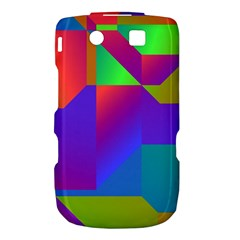 Colorful gradient shapes BlackBerry Torch 9800 9810 Hardshell Case  by LalyLauraFLM