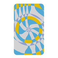 Abstract Flower In Concentric Circles Memory Card Reader (rectangular) by LalyLauraFLM