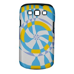Abstract Flower In Concentric Circles Samsung Galaxy S Iii Classic Hardshell Case (pc+silicone) by LalyLauraFLM