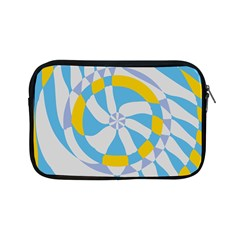 Abstract Flower In Concentric Circles Apple Ipad Mini Zipper Case by LalyLauraFLM