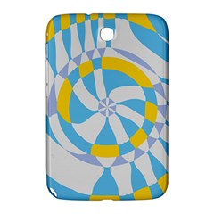 Abstract Flower In Concentric Circles Samsung Galaxy Note 8 0 N5100 Hardshell Case  by LalyLauraFLM
