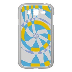 Abstract Flower In Concentric Circles Samsung Galaxy Grand Duos I9082 Case (white) by LalyLauraFLM