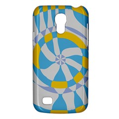 Abstract Flower In Concentric Circles Samsung Galaxy S4 Mini (gt I9190) Hardshell Case  by LalyLauraFLM