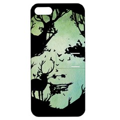 Spirit Of Woods Apple Iphone 5 Hardshell Case With Stand by Civit