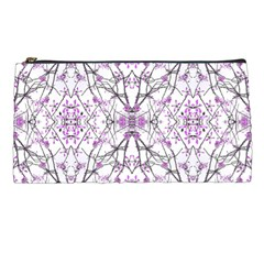 Geometric Pattern Nature Print  Pencil Cases by dflcprints